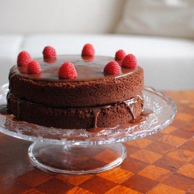 Very best chocolate fudge cake from Goddelijke huisvrouw.nl