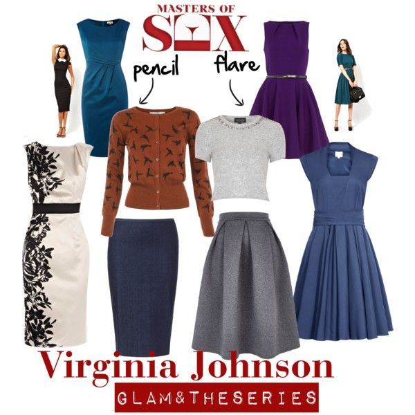 Masters of Sex - Virginia Johnson inspired outfit by almostviola on Polyvore featuring Reiss, Coast, Dorothy Perkins, Linea, ASOS, Uttam Boutique, Topshop, River Island and Zara