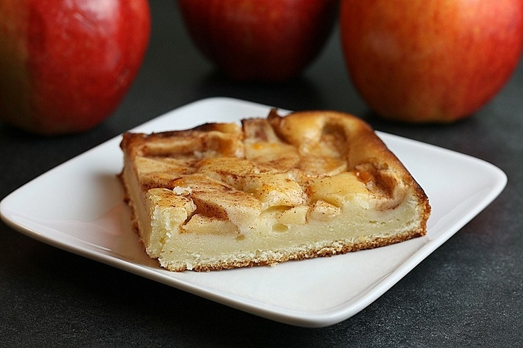 Apple Kuchen - There is a german bakery nearby that makes the most delicious apple kuchen, I'm going to have to try my hand at baking it myself.