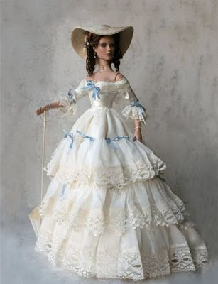 Eugenie, Empress of France - Arrayed in Gold: Historical Dolls (Empresses and Queens)