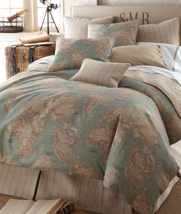 World Map by Legacy. OK IM IN LOVE WITH THIS EVEN THOUGH IVE BEEN LEANING TOWARDS FLORALS. I LOVE WORLD MAPS THOUGH, OHMYGOSH I WANT THIS!!!