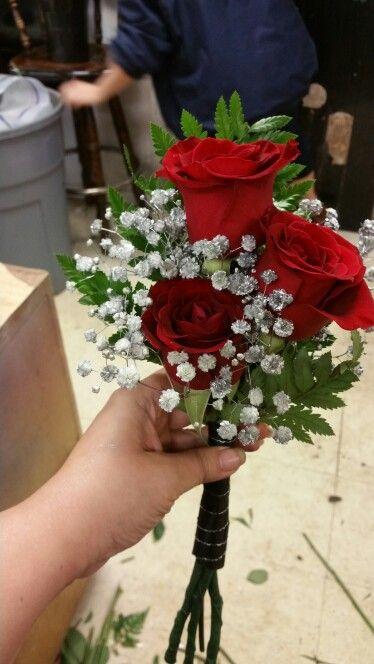 Little bride's maid bouquets