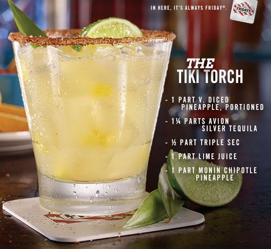 The tiki torch summer cocktail recipe mix avi n silver for Avion tequila drink recipes