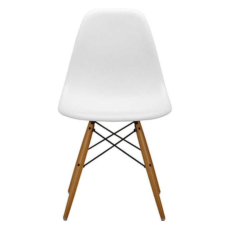 Eames DSW Replica Eiffel Dining Chair - WHITE | Midcentury ...