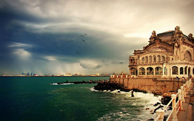 Constanta, Romania. Crazy that I've been to Romania...didn't see this part though. Would love to go back.