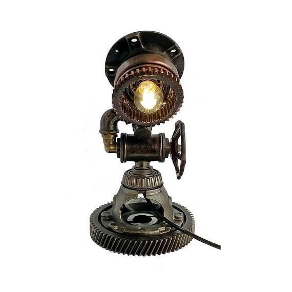 Tractor Bedside Lamp : Best ideas about steampunk lamp on pinterest vintage