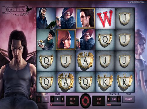 Your opportunities to win are going to be all over the place in the new Dracula online slot produced by NetEnt with tons of features.