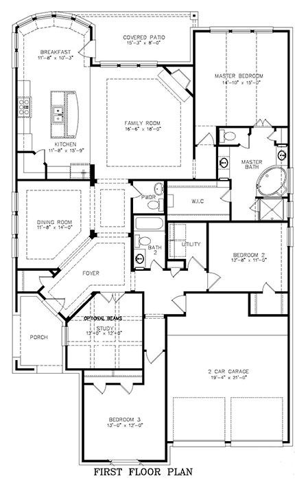 Stillwater 4612 houseplans under 200k pinterest home for Floor plans under 200k