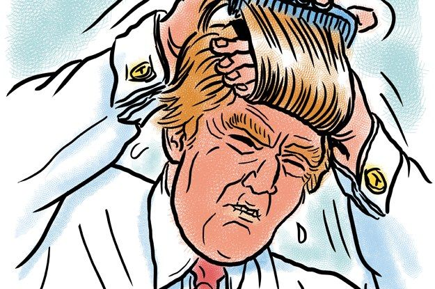 The Complete Evolution Of Donald Trump's Hair
