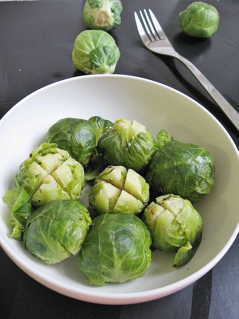 Teczcape-An Escape to Food: Steamed Brussel Sprouts