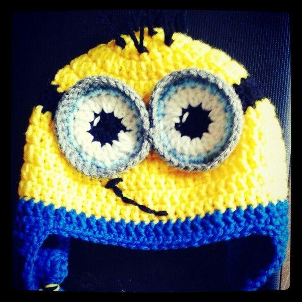 #Minions #DespicableMe #MinionLove #Gorro  #BeanieHat #Crochet ♡