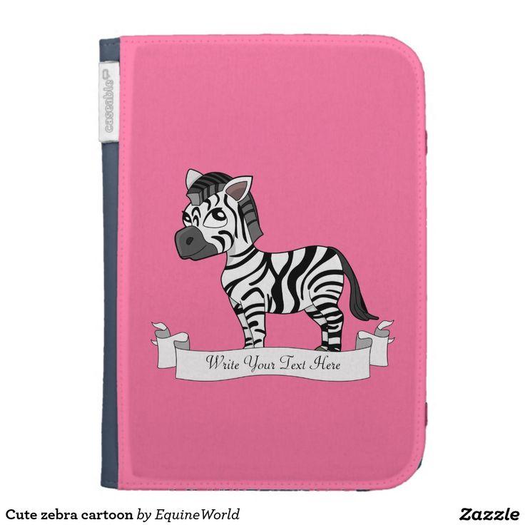 Cute zebra cartoon cases for the kindle