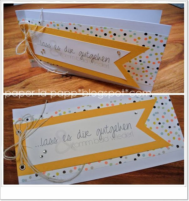 paper-la-papp - Stampin up! Demo in NRW: cards