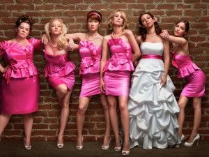 Bridesmaids movie pose... I'm going to make my bridesmaids pose like this