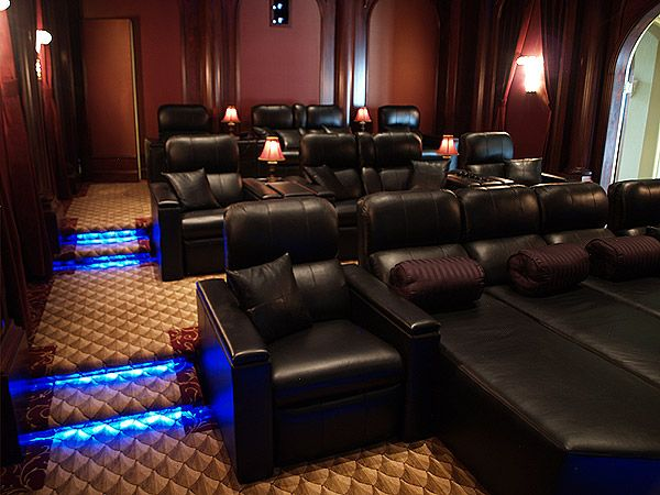 Best 25 Home Theater Rooms Ideas On Pinterest