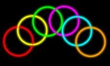 """Glow Stick Bracelets- Tube of 100 8"""" Premium Glow Stick Bracelets by 2-Glow. $8.78. 100 Assorted Color 2-Glow 8"""" Bracelets. The glow bracelets have a glow time of 8-12 hours on most colors. Great initial glow stick brightness. Retail is each offering a great profit potential. Glow bracelets also make great gifts for kids parties, skating parties, and are popular for any night time activity. Insist on genuine 2-Glow brand glow sticks!7 different colors.Long glow time...."""