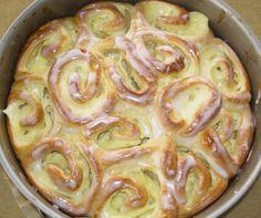 Puddingschnecken - Kuchen (Rezept mit Bild) von naschkatze65   http://Chefkoch.de