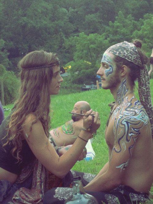 Beauty - hippie henna
