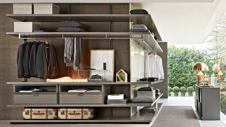 Interior Envy: Molteni Walk-In Closets   Fonda LaShay // Design → more on fondalashay.com/blog