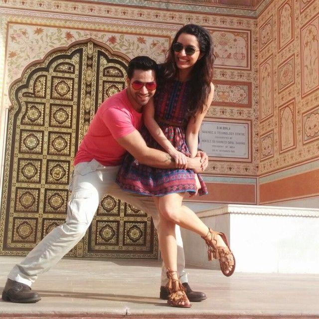 Varun Dhawan and Shraddha Kapoor #ABCD