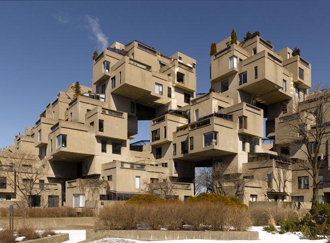 Habitat 67' -  Moshe Safdie http://portalarquitetonico.com.br/habitat-67/