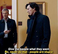 Sherlock, John and Lestrade - The Six Thatchers