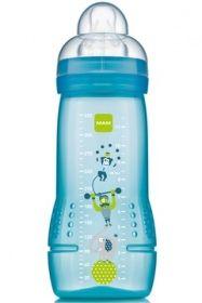 Biberon 2ème âge Cirque Vert Tétine débit X - 330 ml de Mam sur 1001pharmacies, dans Maternité