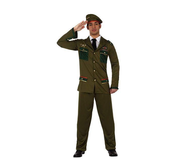 Disfraz de Militar para hombre talla M-L | Disfrazzes | Tienda de disfraces online  21,95 €