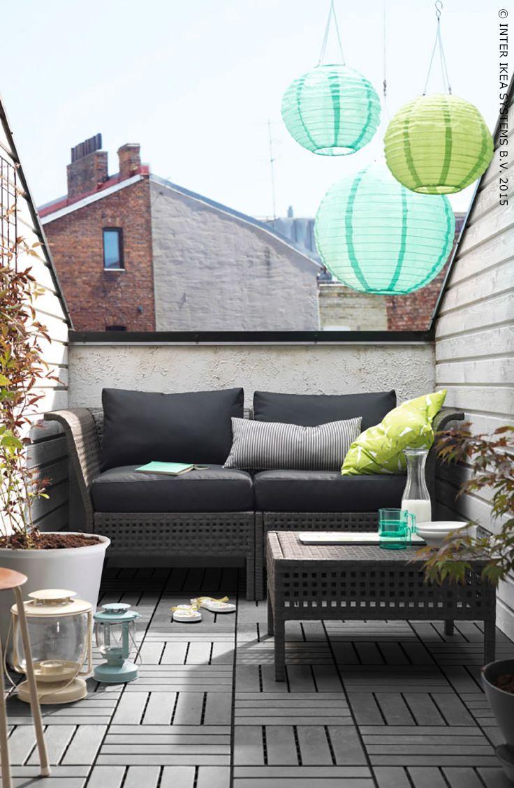Balcony furniture ikea -  Ikea Jardin Terrasse Kungsholmen Kungs