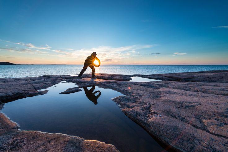 I catching the sun by Lars Eskildsen on 500px