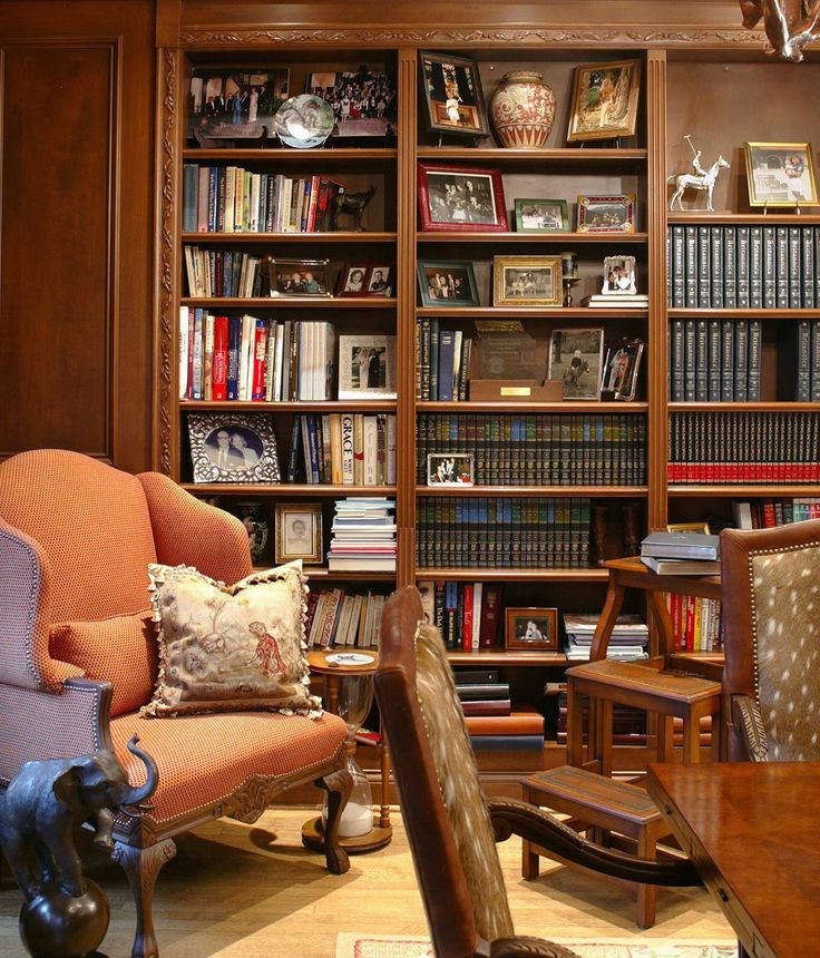 Mahogany Home Library Office: 217 Best Libraries, Studies & Offices Images On Pinterest