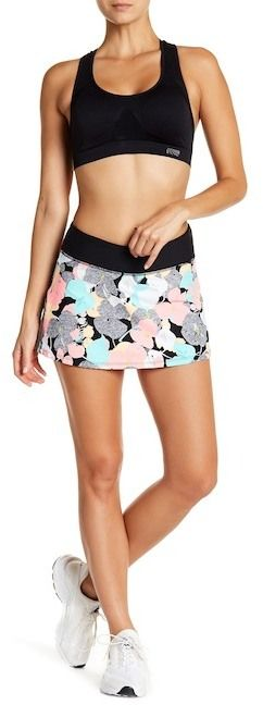 Trina Turk Pop Camo Tennis Skirt