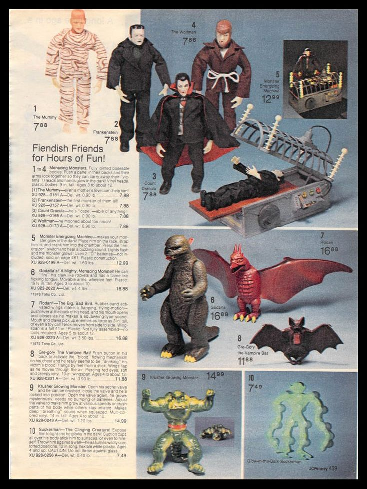Marvel Comics of the 1980s: 1980 - JC Penny Christmas Toy Catalog