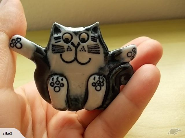 Beautiful Cat Brooch | Trade Me