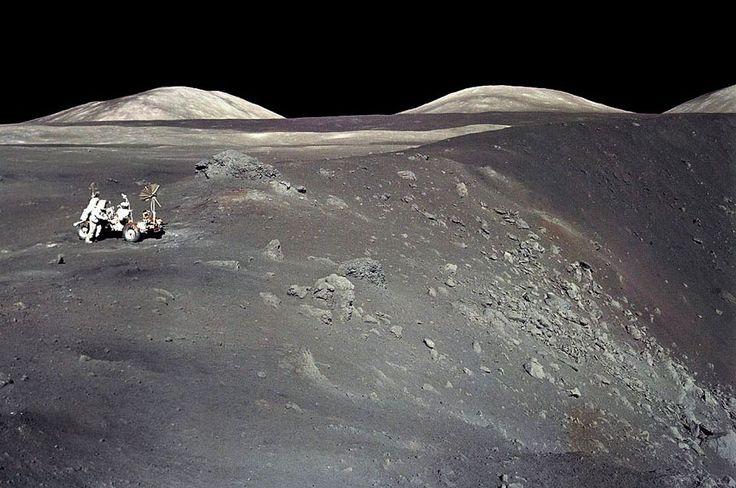 APOD: 2012 June 24 - Apollo 17 at Shorty Crater