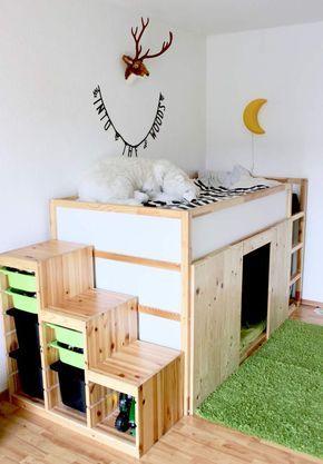 Deko Ideen Fur Ein Wald Kinderzimmer Mit Viel Stauraum Info Bord
