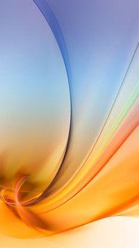 Grafika w kolorach nieba i słońca