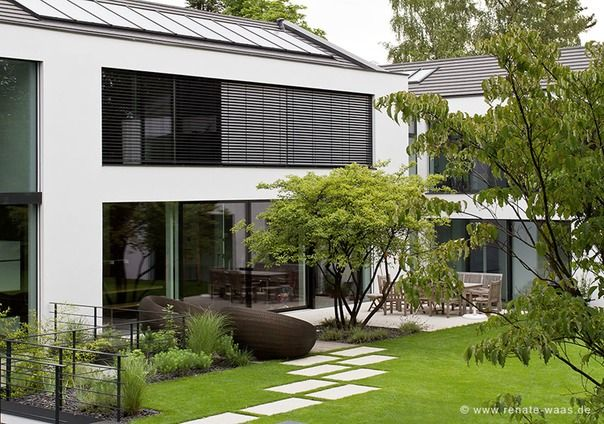 Moderner Garten Gartenplanung Waas Renate