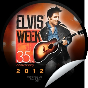 Elvis Week 2012 - Thank you for remembering the king of rock n' roll during Elvis Week 2012 which runs through 8/18. Don't forget to tune into the candlelight vigil, held at Graceland each year on 8/15. Share this one proudly. It's from our friends at Elvis Presley Enterprises.