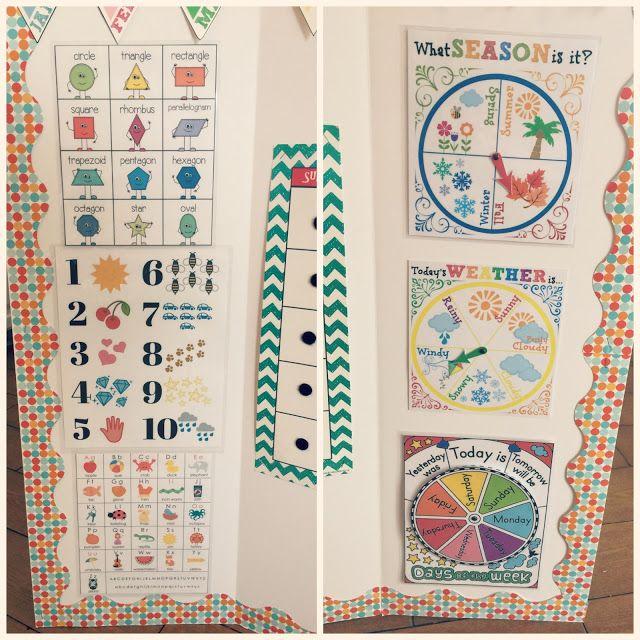 Circle Time Calendar Printables : Best preschool calendar time ideas on pinterest