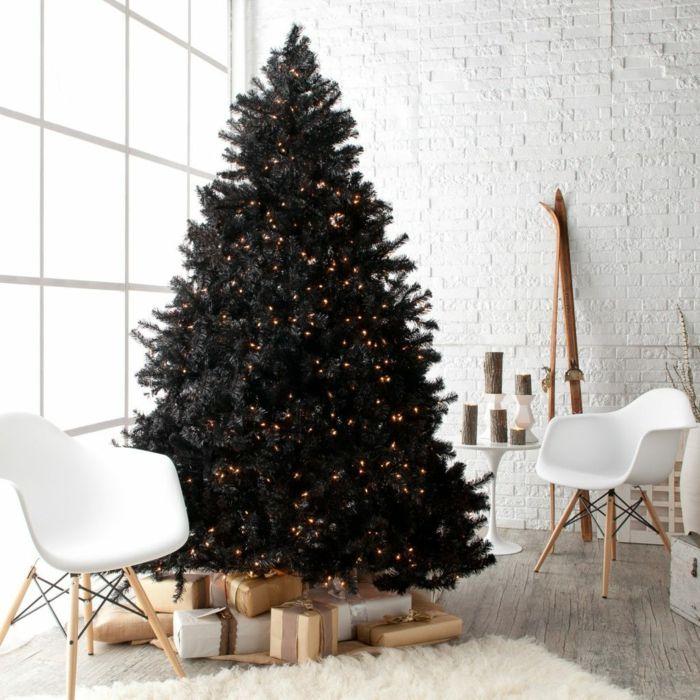 26+ Arbol de navidad negro ideas