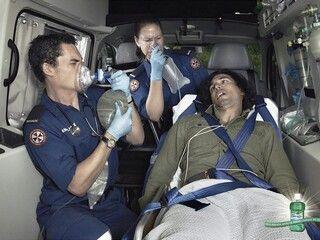 Ambulance from Listermint Mouthwash #print #creative