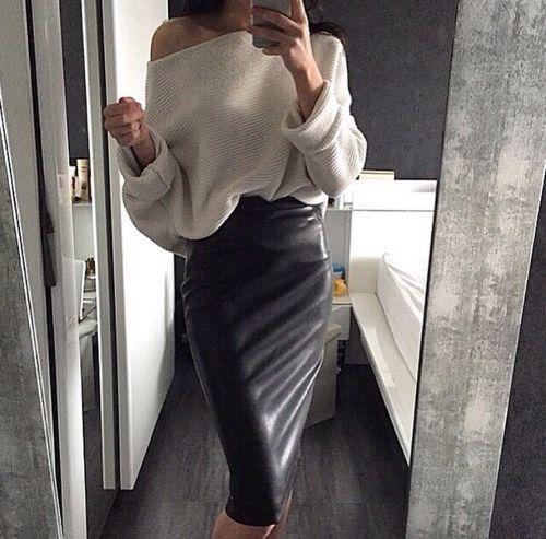 La jupe crayon                                                       …
