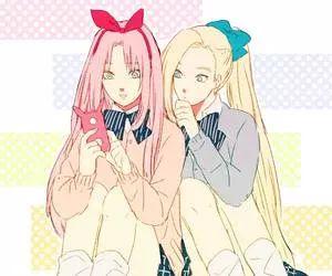 Haruno Sakura and Yamanaka Ino.