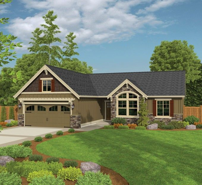 Ranch House Plan With 1621 Square Feet And 3 Bedrooms From