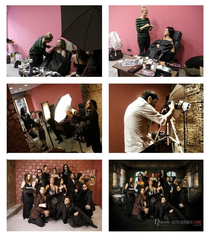 """Making Off sesión de fotos de la campaña """"Nuestro Universo se Expande"""", de Nutopía"""