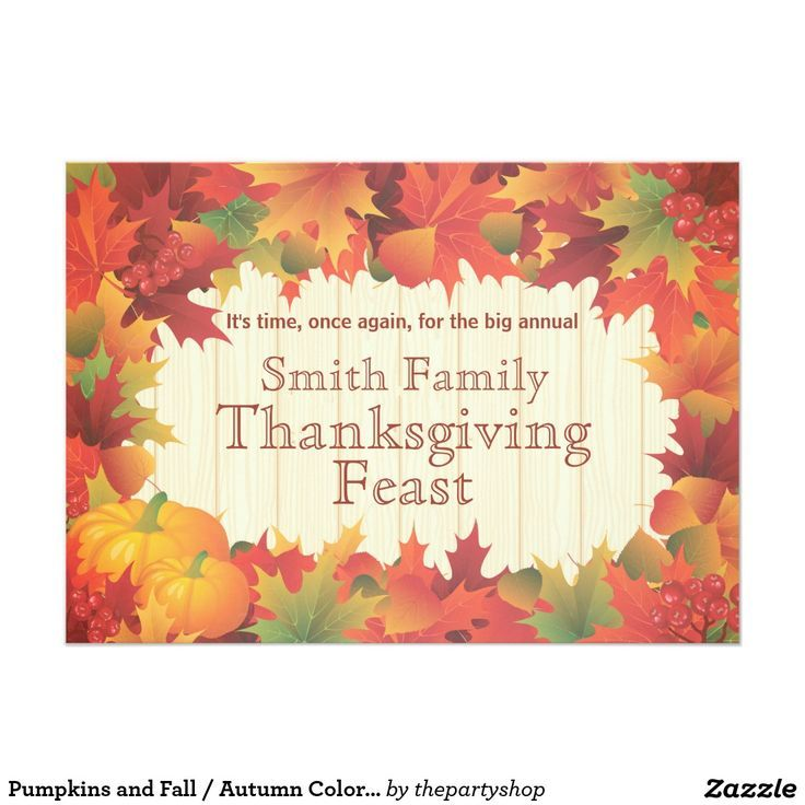 563 best zazzle greeting cards images on pinterest greeting cards pumpkins and fall autumn colors thanksgiving card m4hsunfo