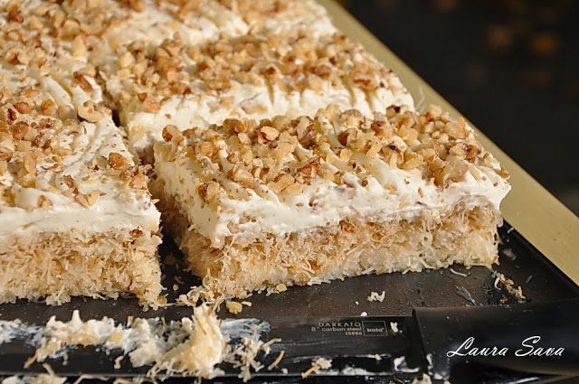 Cataif cu crema de vanilie | Retete culinare cu Laura Sava