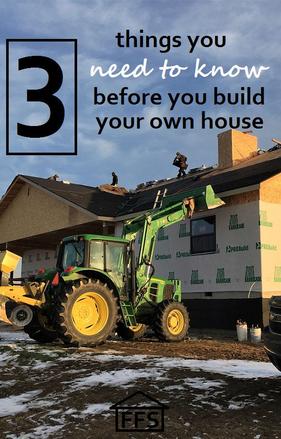 3 things you need to know before you build your own house - Things to know when building a house ...
