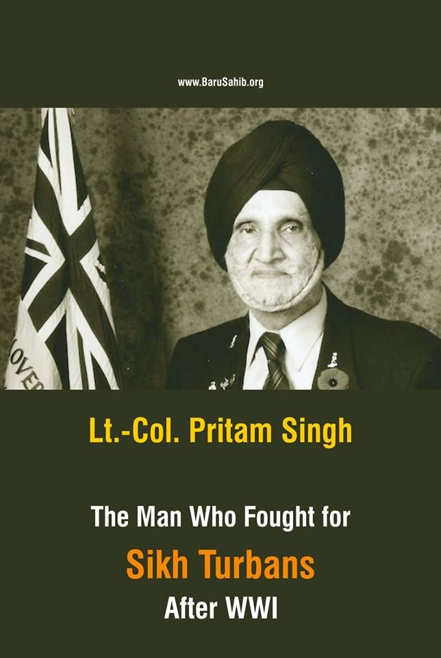 #BlessedtobeSikh Lt.-Col. Pritam Singh- The Man Who Fought for Sikh Turbans After WWI A prominent figure in the Sikh-Canadian community who fought and won a high profile battle to allow Sikhs wearing turbans into Royal Canadian Legions is no more. Jauhal fought for the British Empire in World War II, but on Remembrance Day in 1993 he was denied entrance to the Newton Legion in Surrey because of his turban and legion rules forbidding the wearing of hats and headgear. Read More http://barusahi
